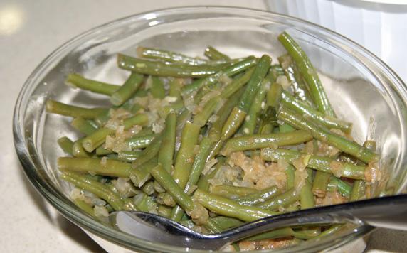 South Croatian green beans