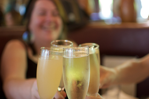 Raise a glass to mom on Mother's Day - Photo by tegg on Flickr.