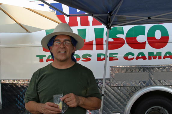 Owner / Operator of Mariscos Jalisco, Raul Ortega