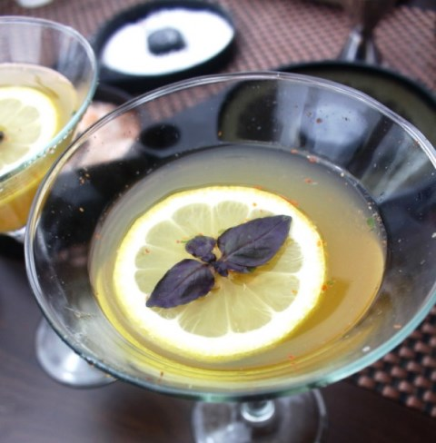 A cocktail crafted by one of the bartenders partcipating in events leading up to the San Diego Spirits Festival.  Nationwide coverage of the event has spirits aficionados  travelling to Southern California for a sample of the growing cocktail scene.