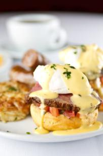 Fleming's Filet Mignon Benedict
