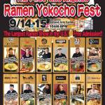Ramen Yokocho Fest is coming to Torrance!
