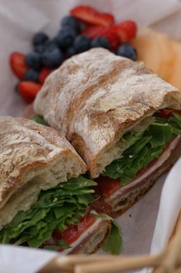 Prosciutto Morning Sandwich