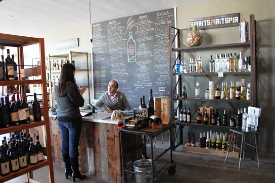 Barsha Wine and Spirits is a cozy little wine bar in Manahttan Beach.  Adnen and Lenora are the husband-and-wife team behind the wine bar.  Expert wine advice is given by Adnen while the tapas menu is prepared be Lenora.