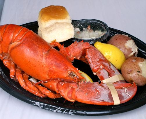 "Redondo Beach Lobster Festival ""Small Louie"" includes admission and 1.25 pound of lobster plus sides!"