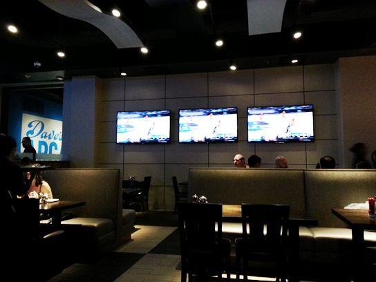 TVs at Dave and Busters Westchester