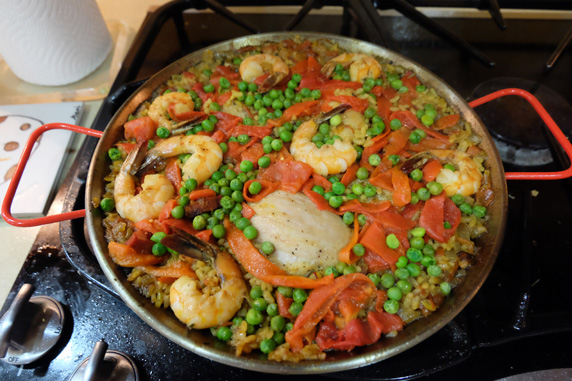 My wife's paella
