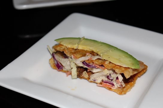The Wonton Fish Taco.