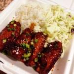 Yoshinaya's New Fall Offering: Asian BBQ Wings