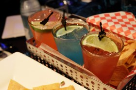 The Air Mexico is a flight of three of their signature margaritas