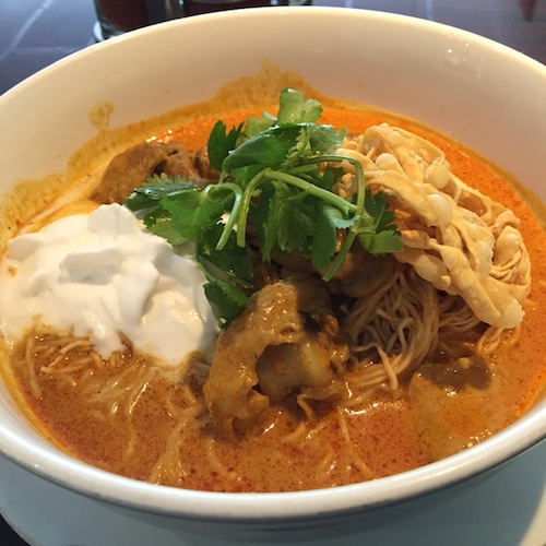 Chicken Khao Soi soup