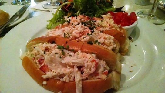 Lobster Rolls from LULU California Bistro.