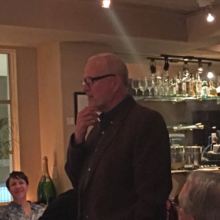 Winemaker Ken Brown provided an overview of each wine served