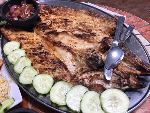 Grilled Pescado Sarandeado