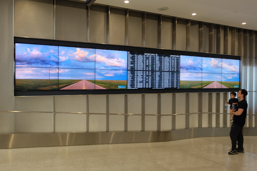 New look in Terminal 6
