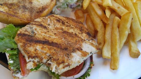5-swordfish-sandwich-Dinner at Captain Kidd's-2