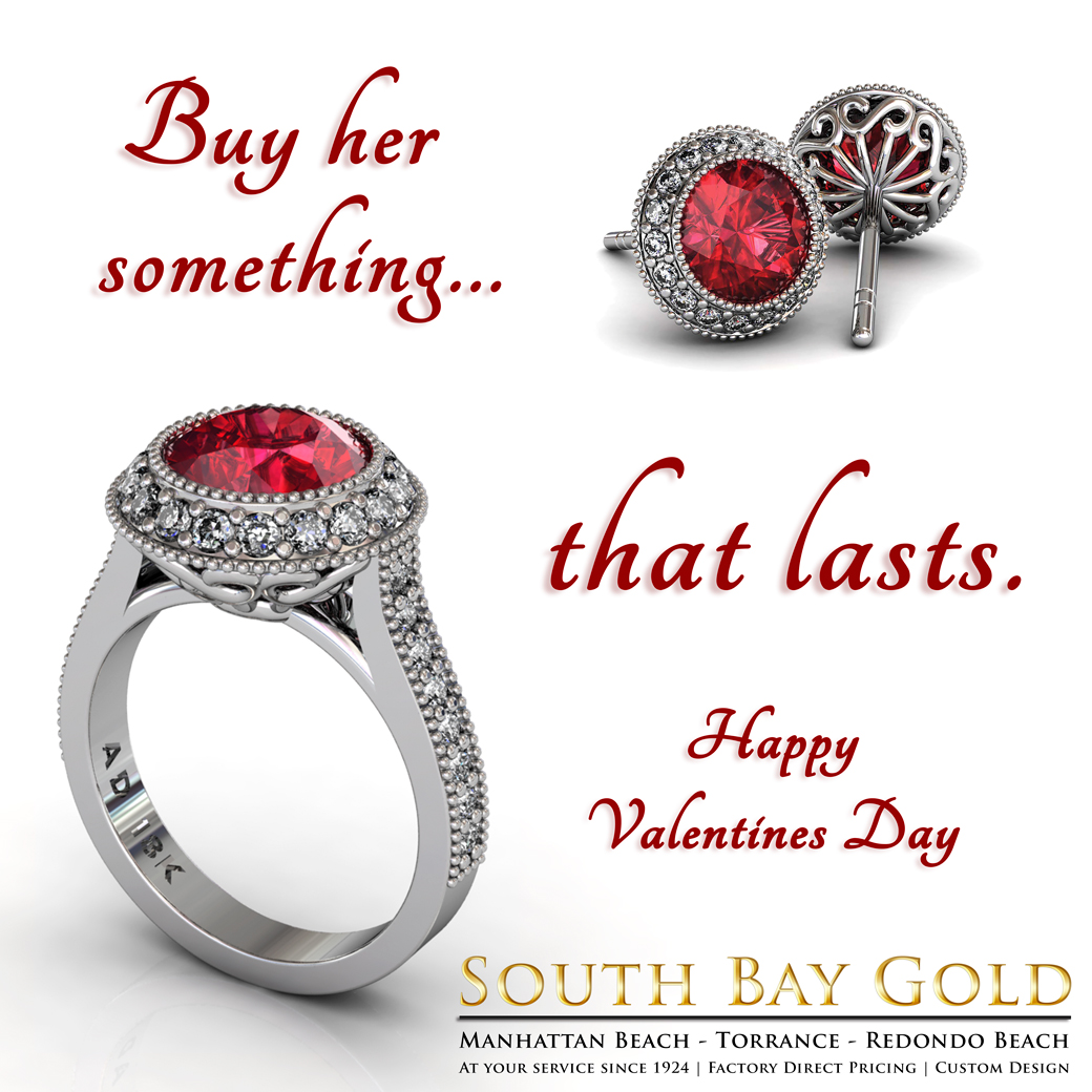 Valentines Day Jewelry At South Bay Gold