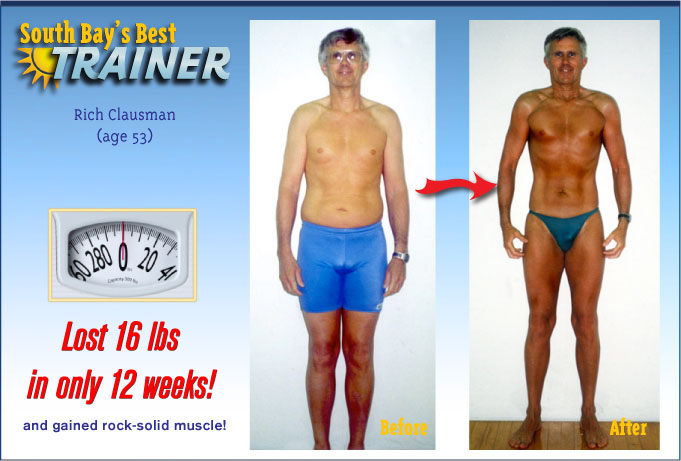 weight loss testimonial personal trainer fat loss program