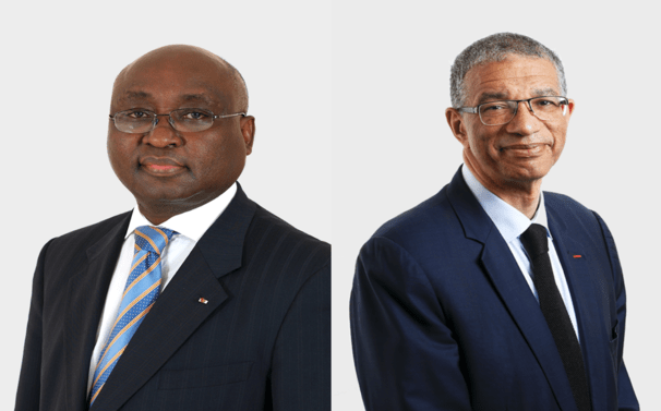 Donald Kaberuka and Lionel Zinsou, bridge makers