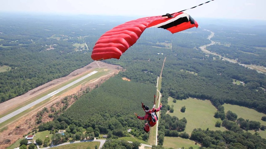 AFF Canopy Ride