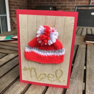 Knitted Winter Hat card