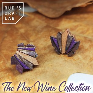 The Wine Collection Small Earrings - set 2