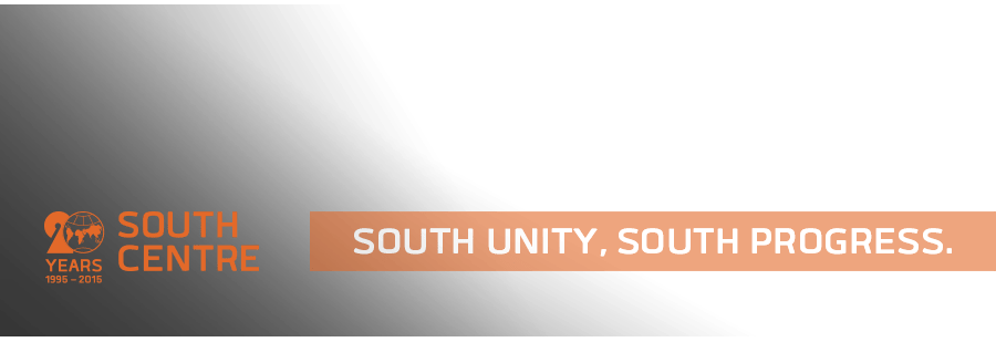 The South Centre • South Unity, South Progress