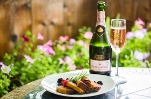 try our delicious carrot cake french toast dessert which pairs well with champagne or our mimosas