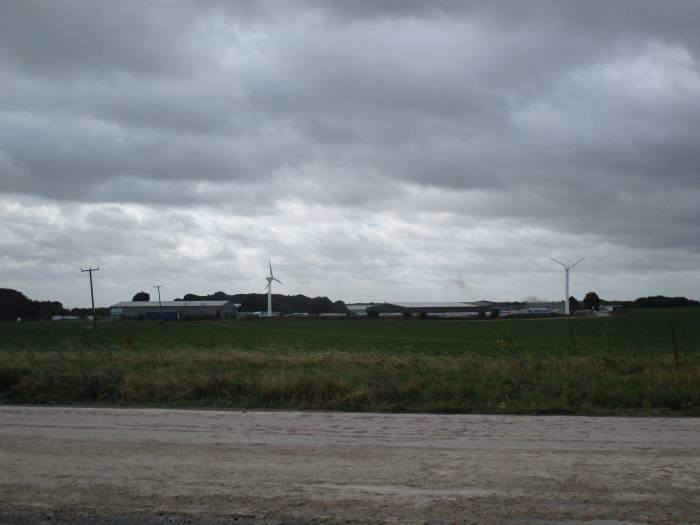 Babdown Airfield - the sky tells it all