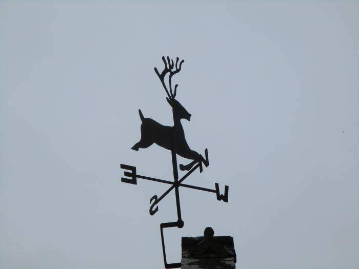 And a local wind vane