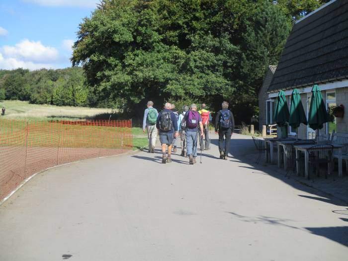 Then pass Stinchcombe Golf Club
