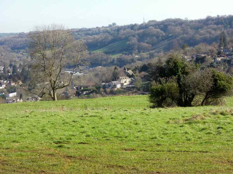 And have good views into the Chalford Valley
