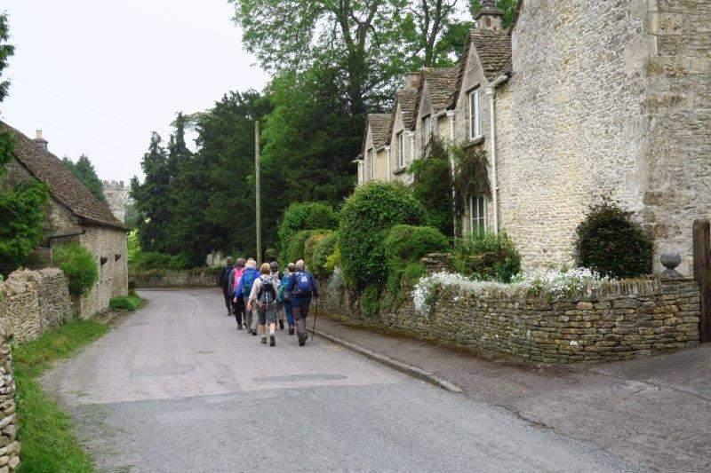 Today we head out through Kingscote village
