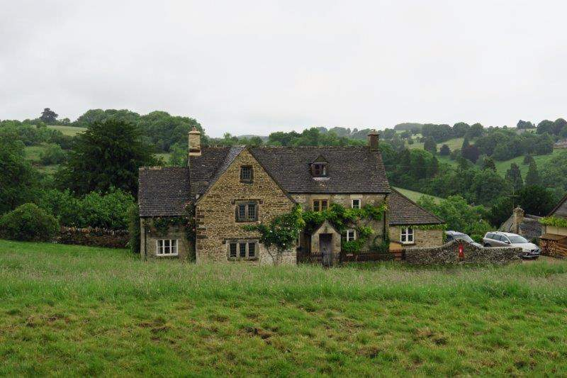A typical Cotswold village