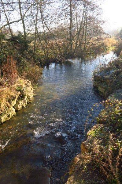 Where we cross the river again