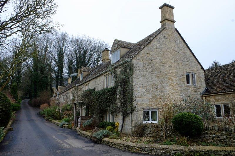 Before we pass the cottages used in Cider with Rosie by the BBC in the 1970s