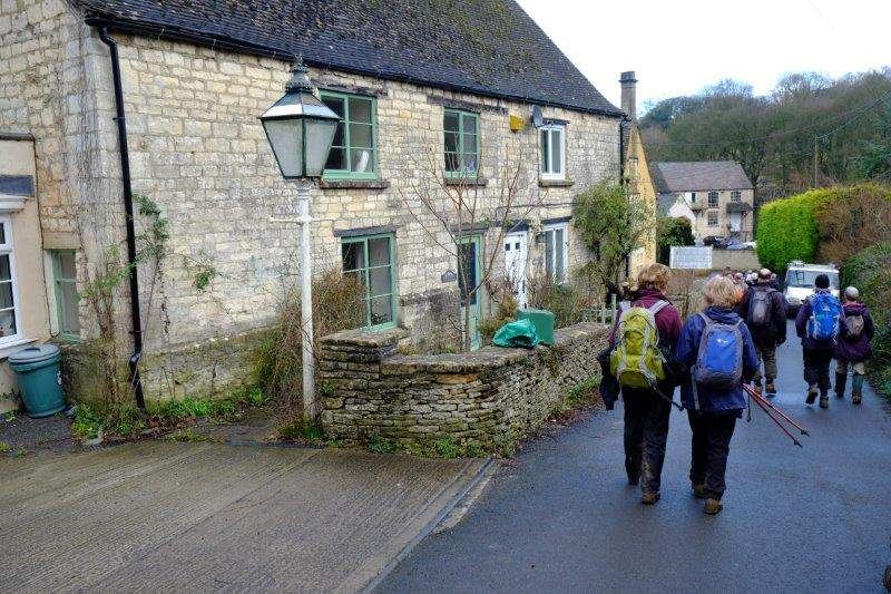 Now back into Woodchester