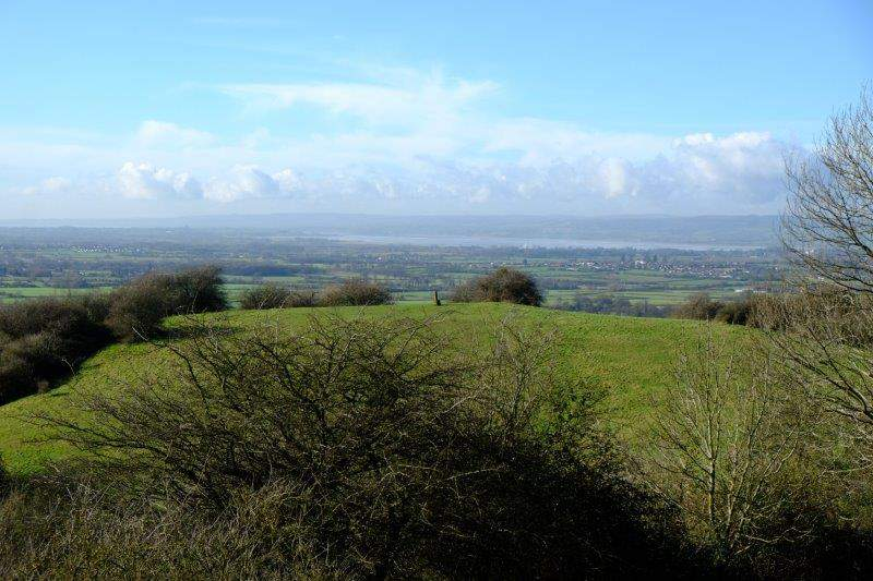 Another view across Vinegar Hill to the Severn