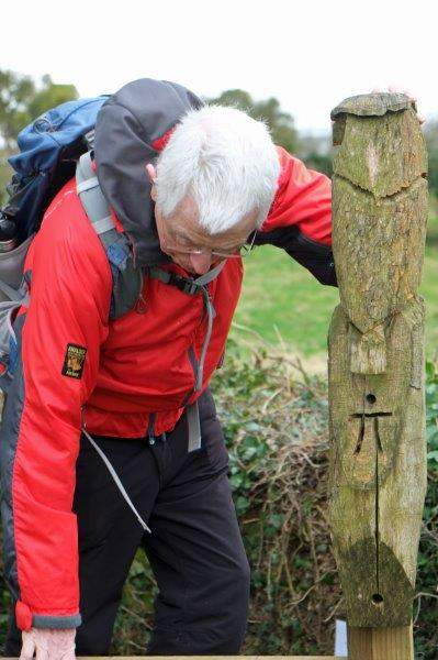 Some interesting carvings on the stile