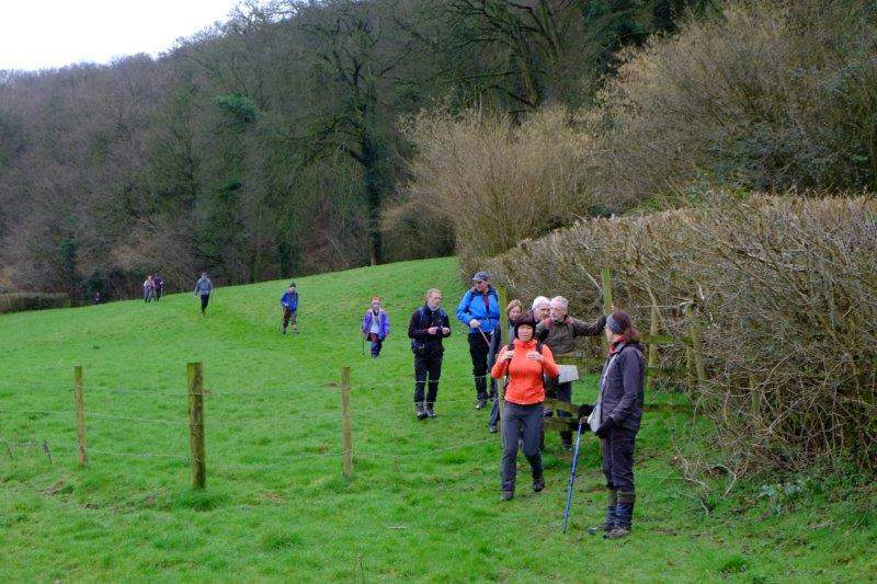 Parallel with the Cotswold Way