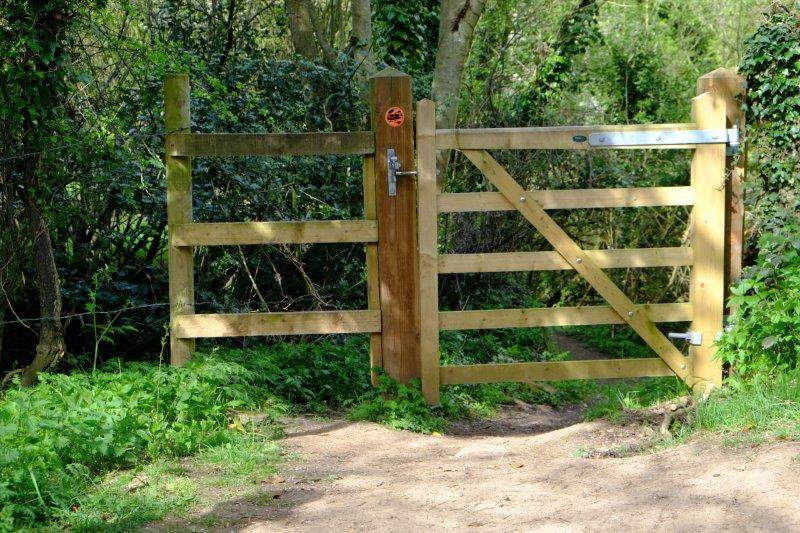 A brand new gate