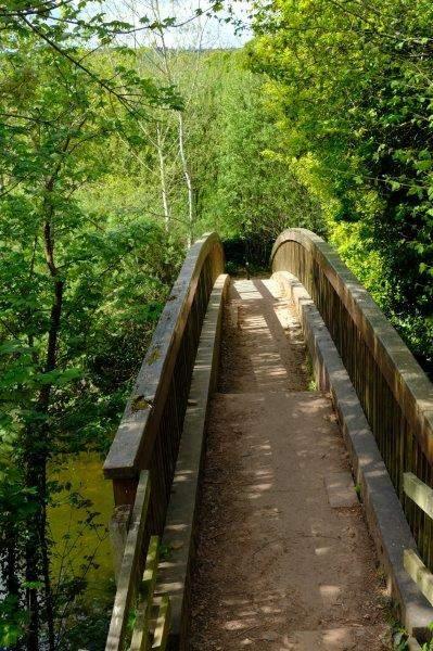 On this bridge