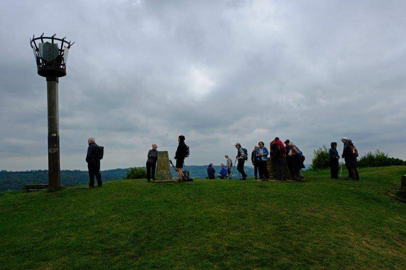 Gathering round the Beacon, Topograph and Trig Point