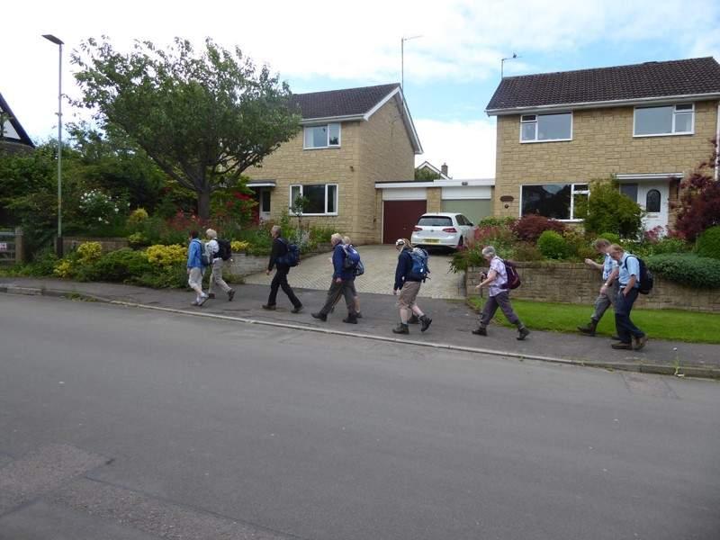 Then walk through Noverton