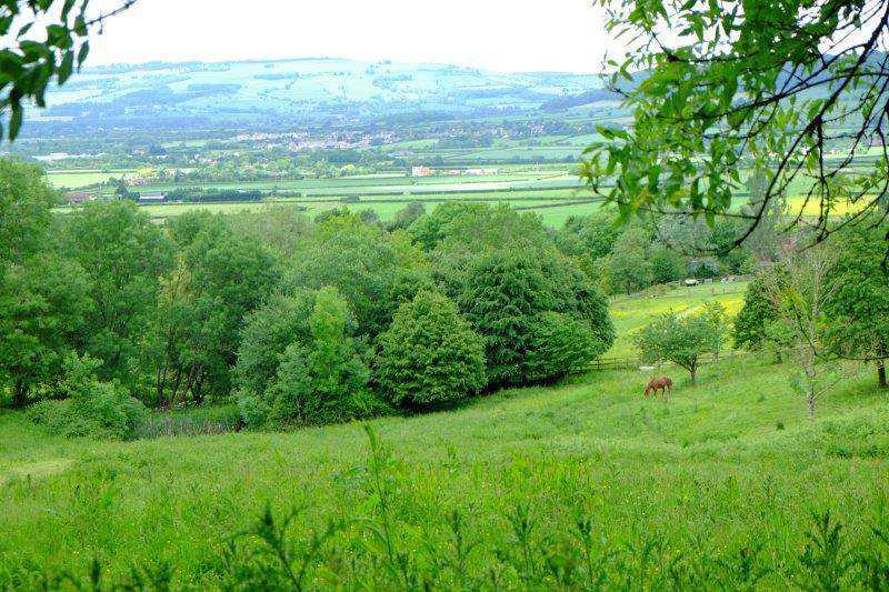 Winchcombe in the distance