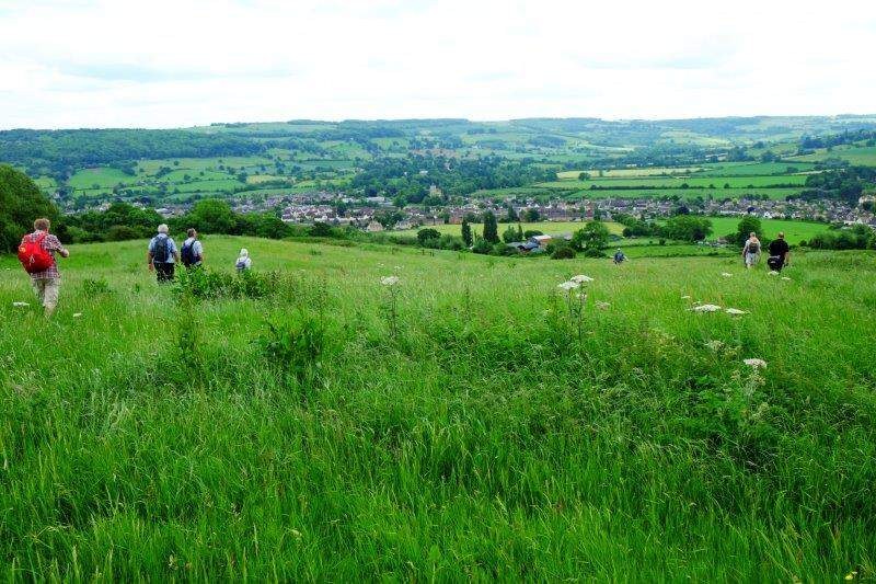 Before heading down into Winchcombe