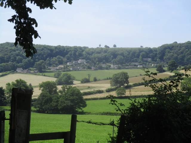 Views across to Uley