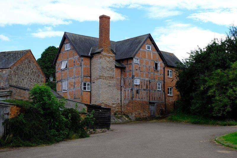 An imposing farmhouse