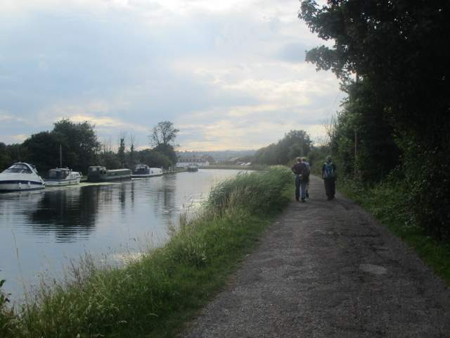 Along the tow path