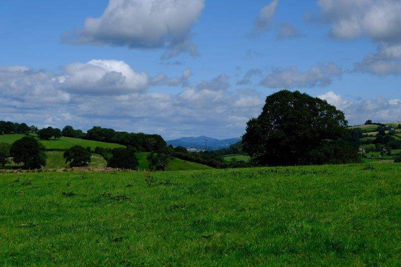 Now looking back towards the Malverns
